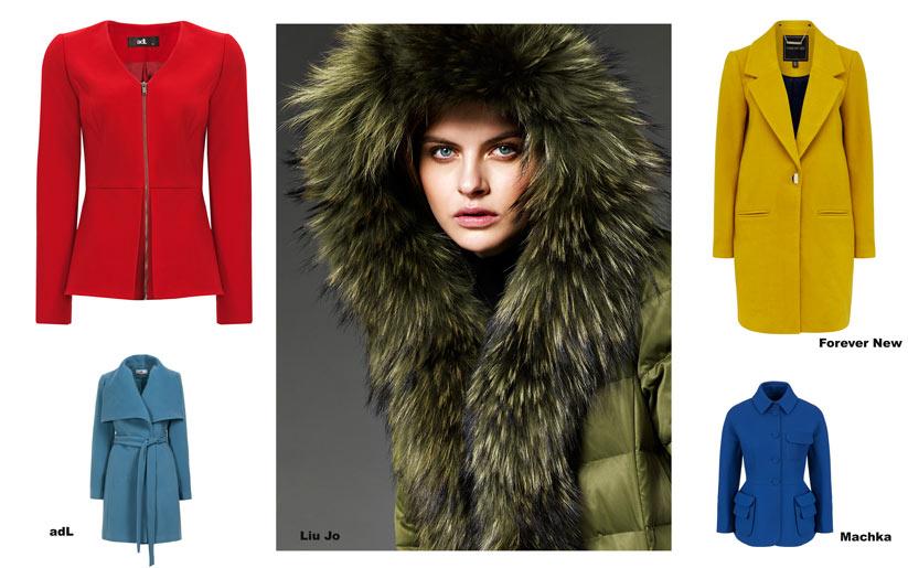 Modada neşeli kış