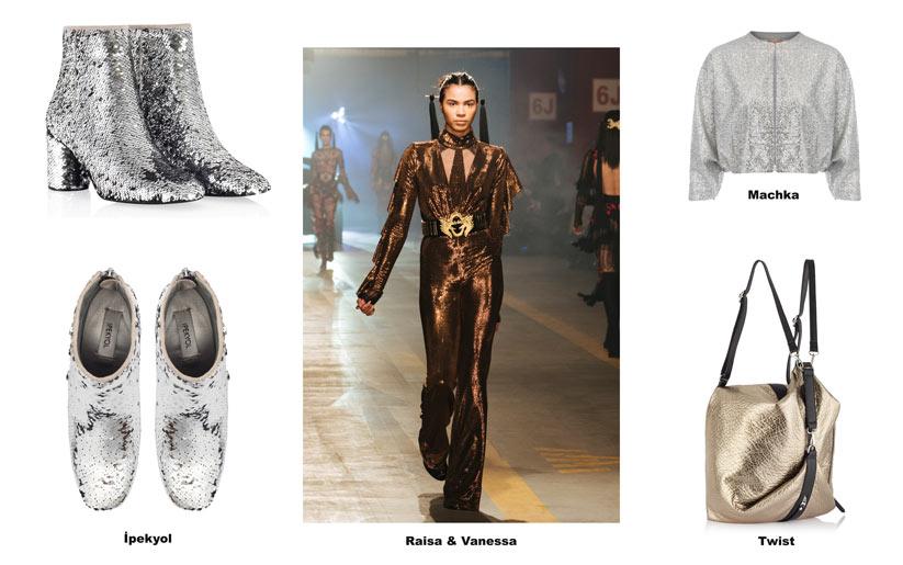 Modada uzay çağına dair tasarımlar
