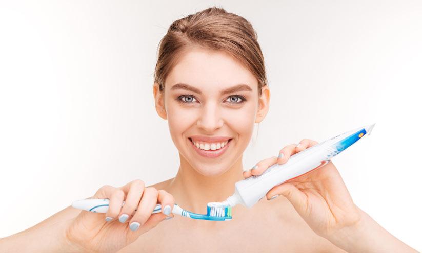 grip olduğunuzda diş macununu diş fırçasına değdirmeyin