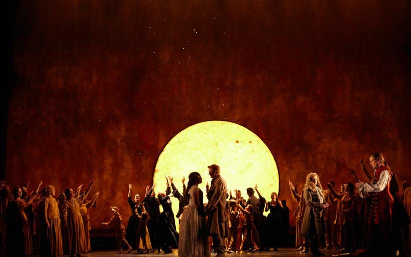 Sihirli flüt operası istanbul'da