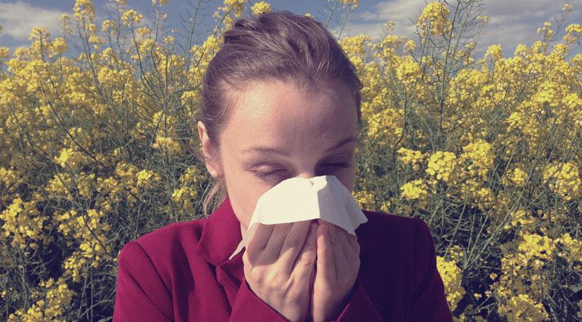 sadece alerjik bir insan olabilirsiniz