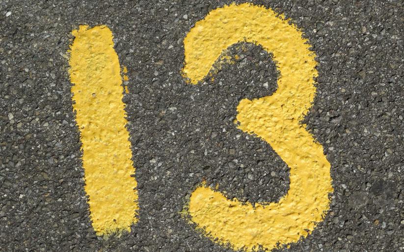 13 sayısı neden ugursuz kabul edilir