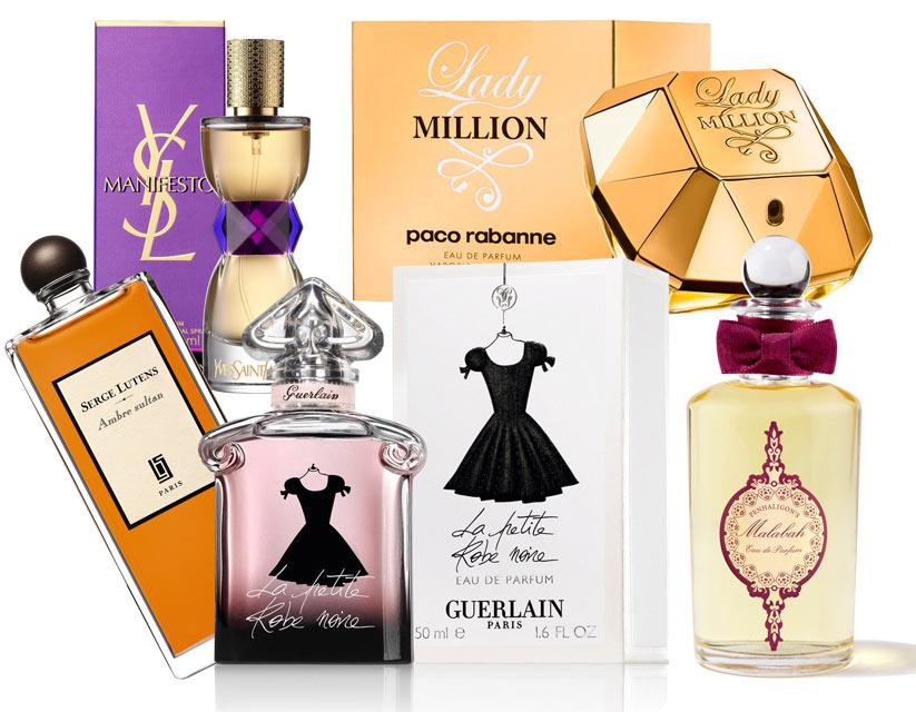 Hazinin seçtiği parfümler