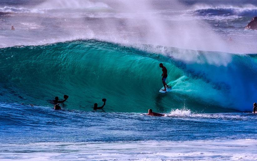 avusturalyalılar yeni yıla plajda giriyor