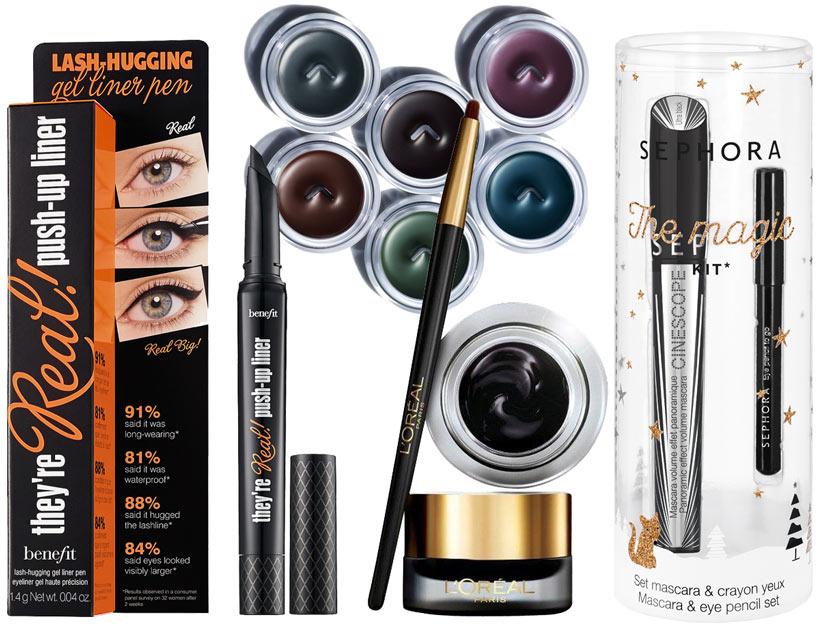 göz makyajında kullanılabilecek ürünler