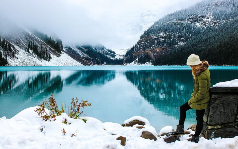 yeni yılda Kanada'da yüzme şenliği