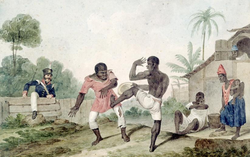 capoeira'nın hikayesi