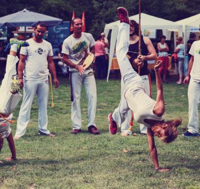 dövüş sanatı Capoeira