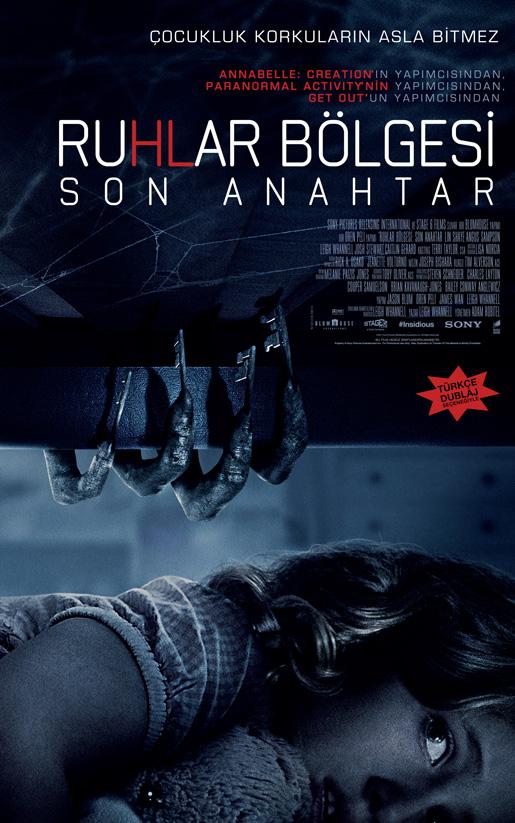 Ruhlar Bölgesi: Son Anahtar (Insidious: TheLastKey)