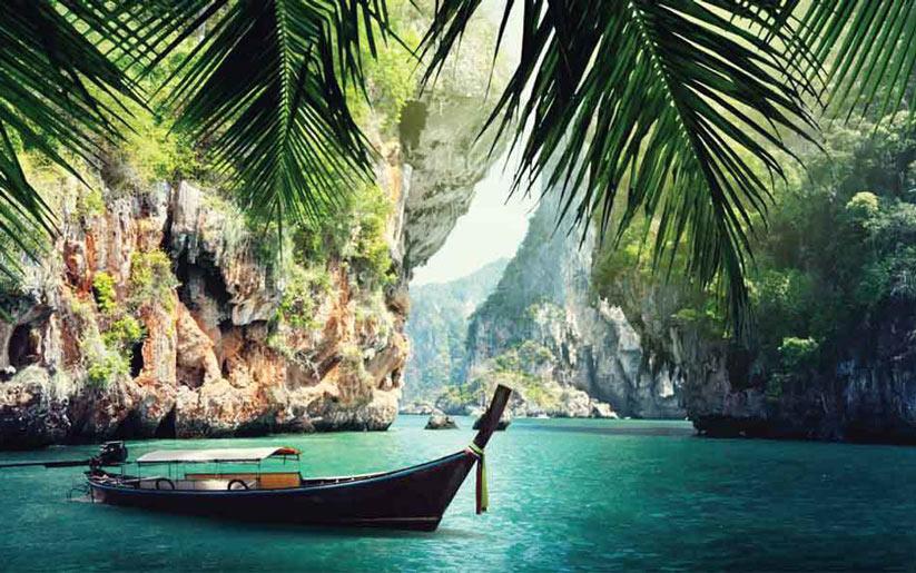 tayland'da bohem tatil