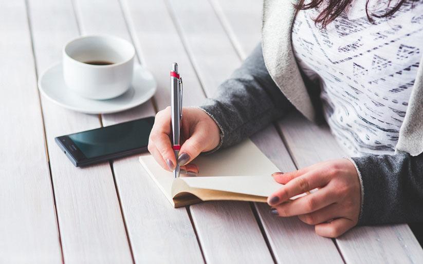 rüya ve düşüncelerinizi not alın