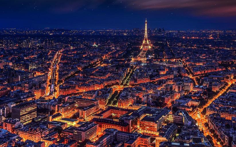 Fransa'da romantik tatil