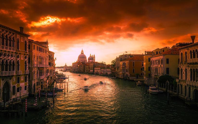 İtalya'da romantik tatil