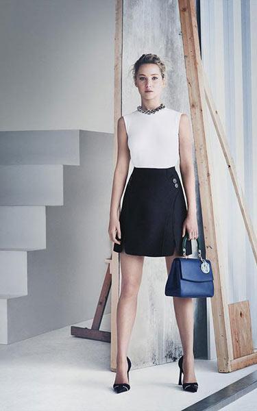 Jennifer Lawrence'ın moda tüyoları