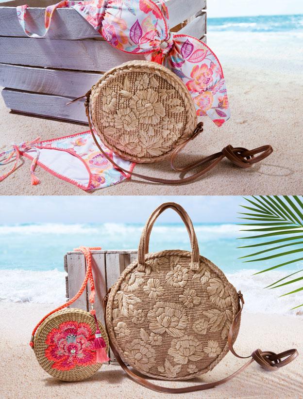 2018 çanta aksesuar trendlerinde hasır çantalar