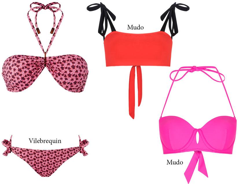 2018 Yaz aylarında plaj modasında straplez modeller