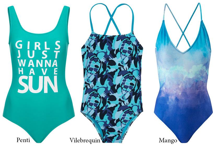 2018 Yaz plaj modasında tek parça mayolar
