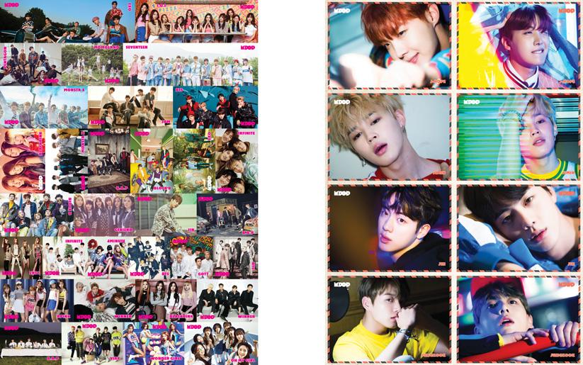 K-Pop & Drama Dergisi'nin 2. sayısında posterler ve özel koleksiyon kartları