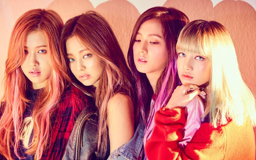 BlackPink kız grubu Kpop dergisinin 2. sayısında