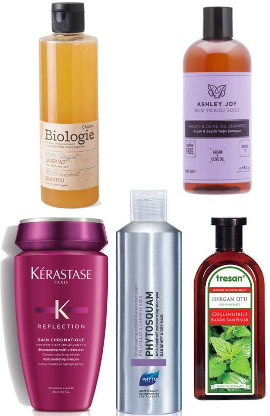 Saç sağlığınızı önemsiyorsanız bu şampuanları kullanmalısınız