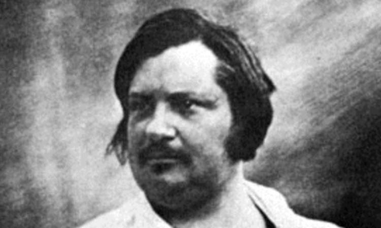 Saf dahilerden Honore de Balzac
