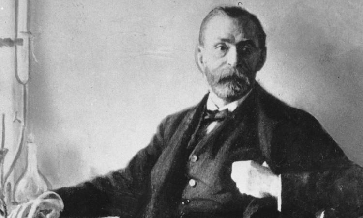 Şapşal dahilerden Alfred Bernhard Nobel