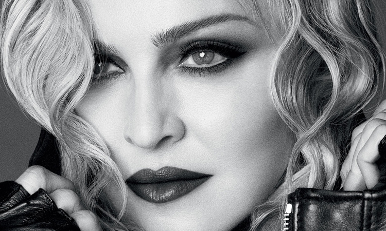 Zeki güzellerden Madonna