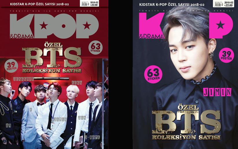K-Pop & Drama BTS özel koleksiyon sayısı çıktı.
